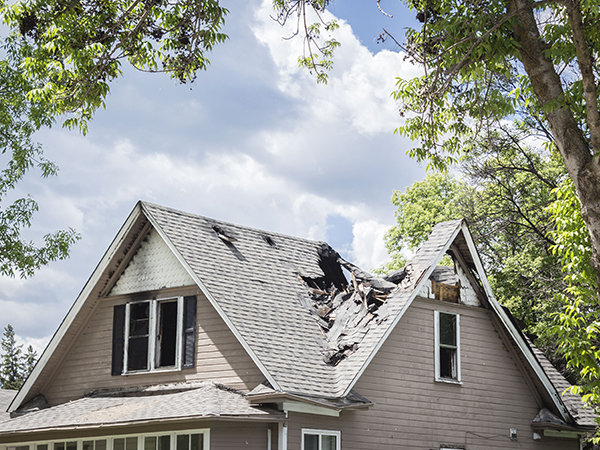 house fire claims adjuster